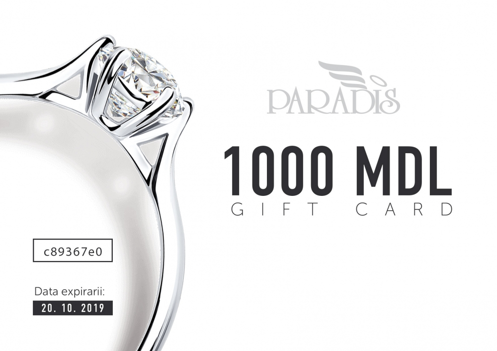 Gift Certificate 1000 MDL