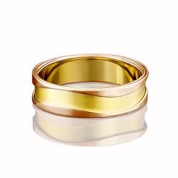 Обручальное кольцо из золота PLATINA АРТ 01-4792-1113 2