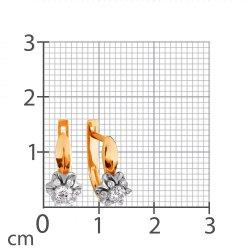 Серьги из золота KARATOV АРТ t131026381*44 2