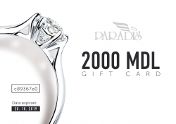 Gift Certificate 2000 MDL
