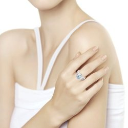 Inel din argint SOKOLOV art 94-310-00551-1 2