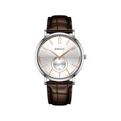 Часы из стали из серебра SOKOLOV АРТ 333.71.00.000.03.02.3 2