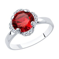 Inel din argint SOKOLOV art 94-310-00473-2 1