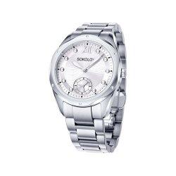 Ceas din oțel din  SOKOLOV art 323.71.00.000.01.01.2 1