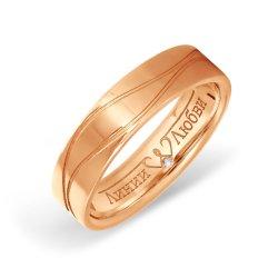 Обручальное кольцо из золота KARATOV АРТ l11504600*44 1
