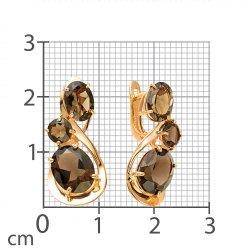 Серьги из золота MAGIC STONES АРТ 02-1-134 2