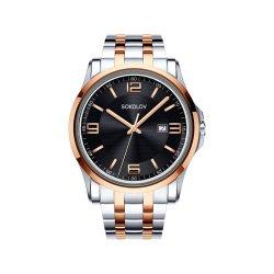Часы из стали из золота SOKOLOV АРТ 301.76.00.000.05.02.3 2