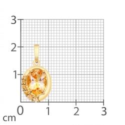 Pandantiv din aur SOKOLOV art 731865 2