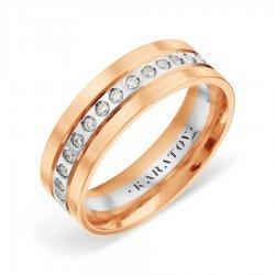 Обручальное кольцо из золота KARATOV АРТ t132019118-k*11 1