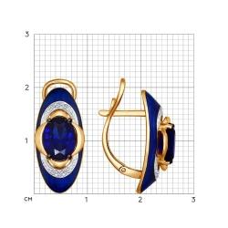 Серьги из золота SOKOLOV АРТ 6022103 2