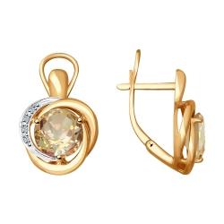 Cercei din aur SOKOLOV art 6024096 1