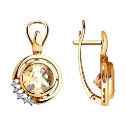 Cercei din aur SOKOLOV art 6024108 1