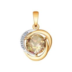 Pandantiv din aur SOKOLOV art 6034031 1