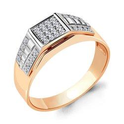 Inel p/u bărbați din aur ACVAMARIN art 62060a.1