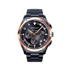 Ceas din oțel din  SOKOLOV art 320.80.00.000.08.03.3 2