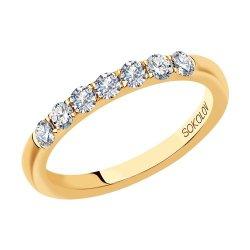 Inel din aur SOKOLOV art 1111260-01 1