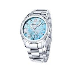 Ceas din oțel din  SOKOLOV art 324.71.00.001.02.01.2 1