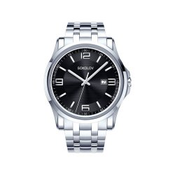 Ceas din oțel din  SOKOLOV art 301.71.00.000.02.01.3 2