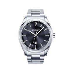 Ceas din oțel din  SOKOLOV art 319.71.00.000.02.01.3 2