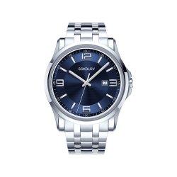 Ceas din oțel din argint SOKOLOV art 301.71.00.000.03.01.3 2