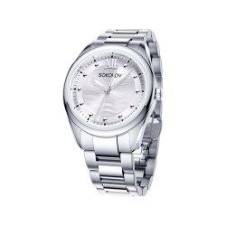 Ceas din oțel din  SOKOLOV art 322.71.00.000.01.01.2 1