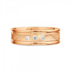 Обручальное кольцо из золота KARATOV АРТ t102619120-01-k*11 2
