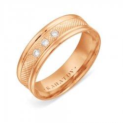 Обручальное кольцо из золота KARATOV АРТ t102619120-01-k*11 1