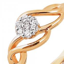 Inel din aur KARATOV art t131013623*44 2