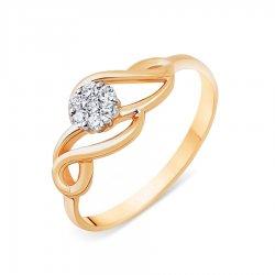 Inel din aur KARATOV art t131013623*44 1