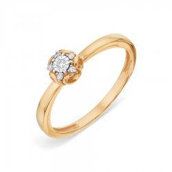 Помолвочное кольцо из золота KARATOV АРТ t13561a 210*44 1
