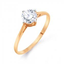 Помолвочное кольцо из золота KARATOV АРТ t142015547*70 1