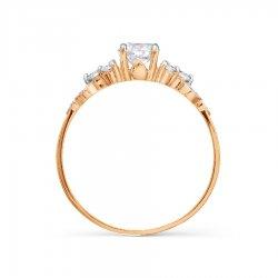 Помолвочное кольцо из золота KARATOV АРТ t142015658*70 3