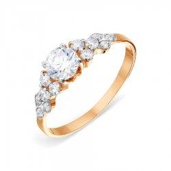 Помолвочное кольцо из золота KARATOV АРТ t142015658*70 1