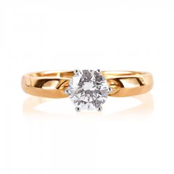 Помолвочное кольцо из золота KARATOV АРТ t142015925*70 2
