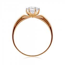 Помолвочное кольцо из золота KARATOV АРТ t142015925*70 3