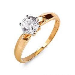 Помолвочное кольцо из золота KARATOV АРТ t142015925*70 1