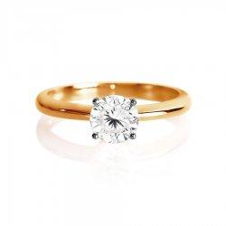 Помолвочное кольцо из золота KARATOV АРТ t142017021*70 2