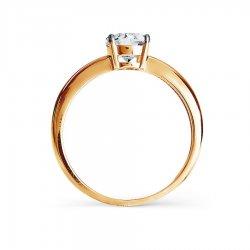 Помолвочное кольцо из золота KARATOV АРТ t142017021*70 3