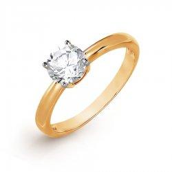 Помолвочное кольцо из золота KARATOV АРТ t142017021*70 1