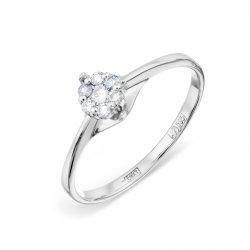 Помолвочное кольцо из золота KARATOV АРТ t331012250*44 1