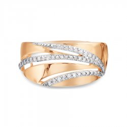 Кольцо из золота KARATOV АРТ t146018677*44 2