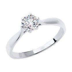 Помолвочное кольцо из золота SOKOLOV АРТ 81010533-3
