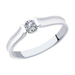 Помолвочное кольцо из золота SOKOLOV АРТ 1011882 1
