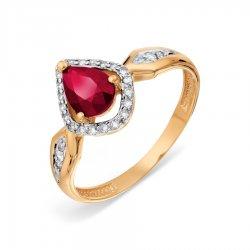 Кольцо из золота KARATOV АРТ t14601a391*44-36 1