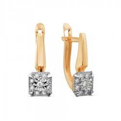 Серьги из золота KARATOV АРТ t146629765*44