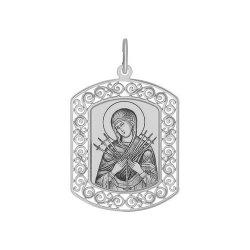 Иконка из серебра SOKOLOV АРТ 94100208 1
