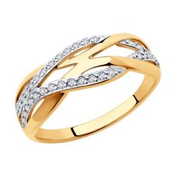 Inel din aur SOKOLOV art 51-110-00633-1 1