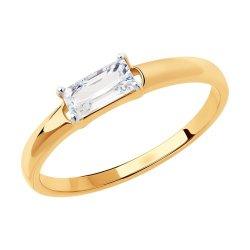 Inel din aur SOKOLOV art 51-110-00636-1 1
