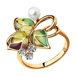 Inel din aur SOKOLOV art 6019012 1