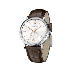 Часы из стали из серебра SOKOLOV АРТ 333.71.00.000.03.02.3 1